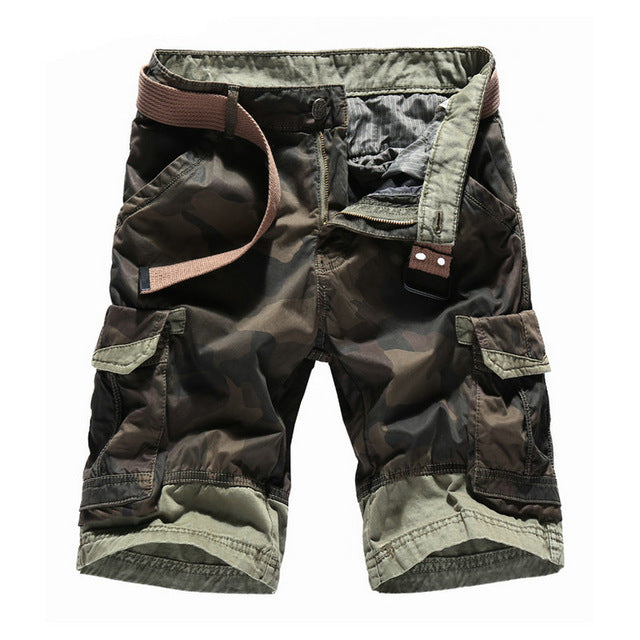 2ed4e5e9e5b Summer New Camouflage Cargo Shorts Men Casual Cotton Beach Male Men s Shorts
