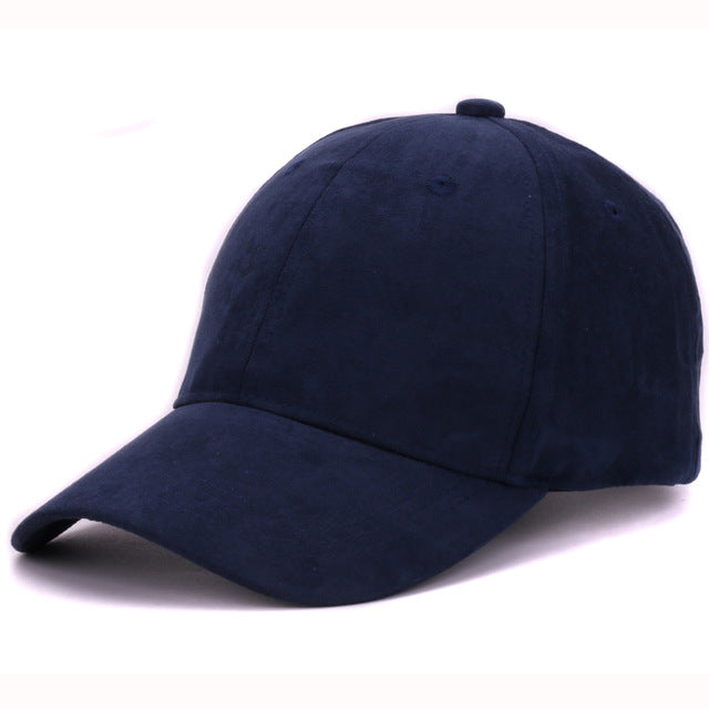 710c8d0b94d Plain Suede baseball caps with no embroidered casual dad hat strap back  outdoor blank sport cap