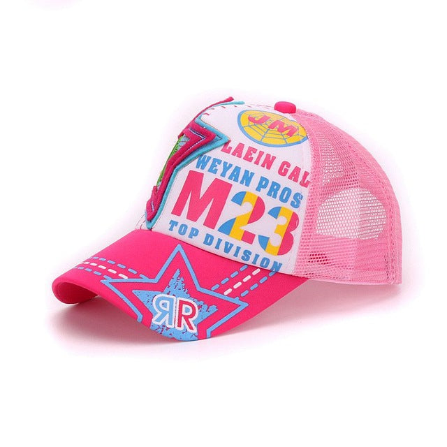 71315632b3ec3 STAR baseball caps baby sun hats girl summer hat kids cap boy snap back cap  student. Sale