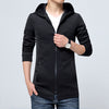 Autumn Casual Hooded  Slim Fit Men Jackets