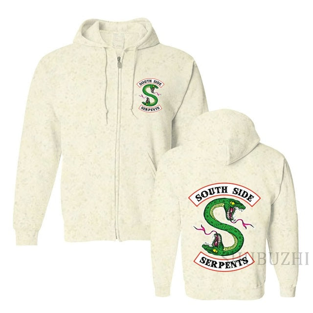 4a7983fb6afb men black hoodies South Side Serpents hood Andrews unisex jacket cotton coat