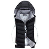 Autumn Winter Casual Padded Waterproof Vest Jacket