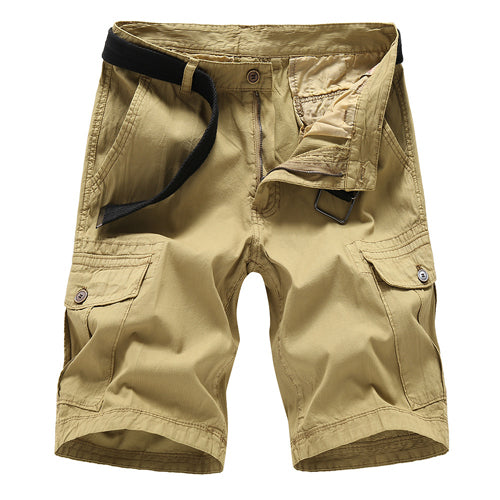 afcc5fc21f8 Summer Casual Cotton Men Cargo Shorts - ThreadCreed