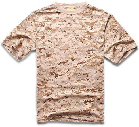 1d6dc54b Summer Camouflage T-shirt Men Breathable Army Tactical Combat T Shirt  Military Dry Camo Camp