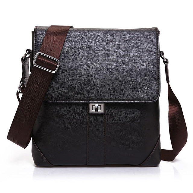 6e78227a6947 New Casual Leather Messenger Bag Men Bag Fashion Male Cross Body Bag Retro  Business Shoulder Bag
