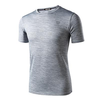 544ac4a38 Spring Summer Men's Short Sleeve T-shirt Quick Dry Breathable Fitness Hip  Hop T-