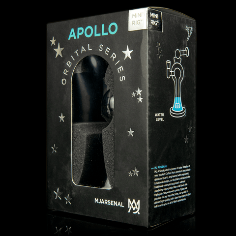 Apollo box showing recommended water level