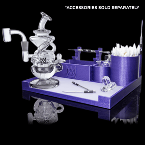 MJ Arsenal X Official Dab Tray (Purple) MJ Arsenal