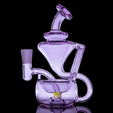 Lavender Claude Mini Dab Rig LE MJ Arsenal