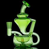 Matrix Green Claude Mini Dab Rig LE MJ Arsenal
