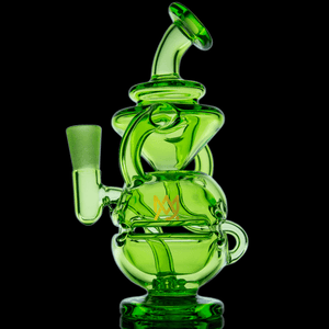Matrix Green Infinity Mini Dab Rig LE MJ Arsenal