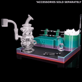 MJ Arsenal X Official Dab Tray (Rainbow Blue) MJ Arsenal
