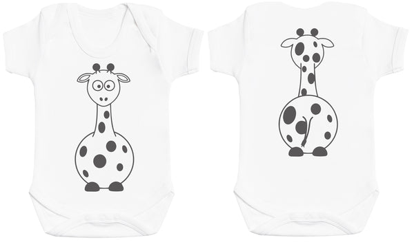 Giraffe Front & Back Design Baby Body