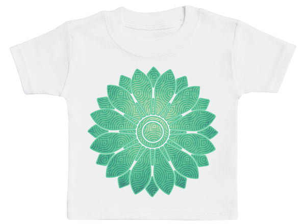 Retro Flower - Baby T-Shirt