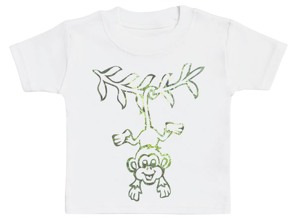 Hanging Monkey - Baby T-Shirt