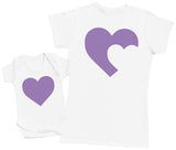 Mother Hen And Chick - Damen T-Shirt & Baby T-Shirt