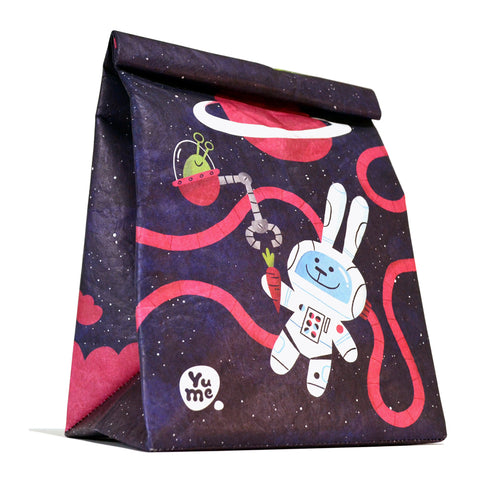 "Youshi Lunch Bag ""Astro Bunnies"""