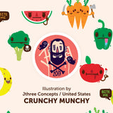 "Youshi Lunch Bag ""Crunchy Munchy"""