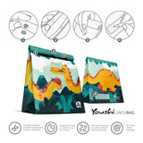 "Youshi Lunch Bag ""Jurassic Munch"""