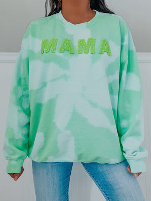 RESTOCK: MAMA Sweater: Mint