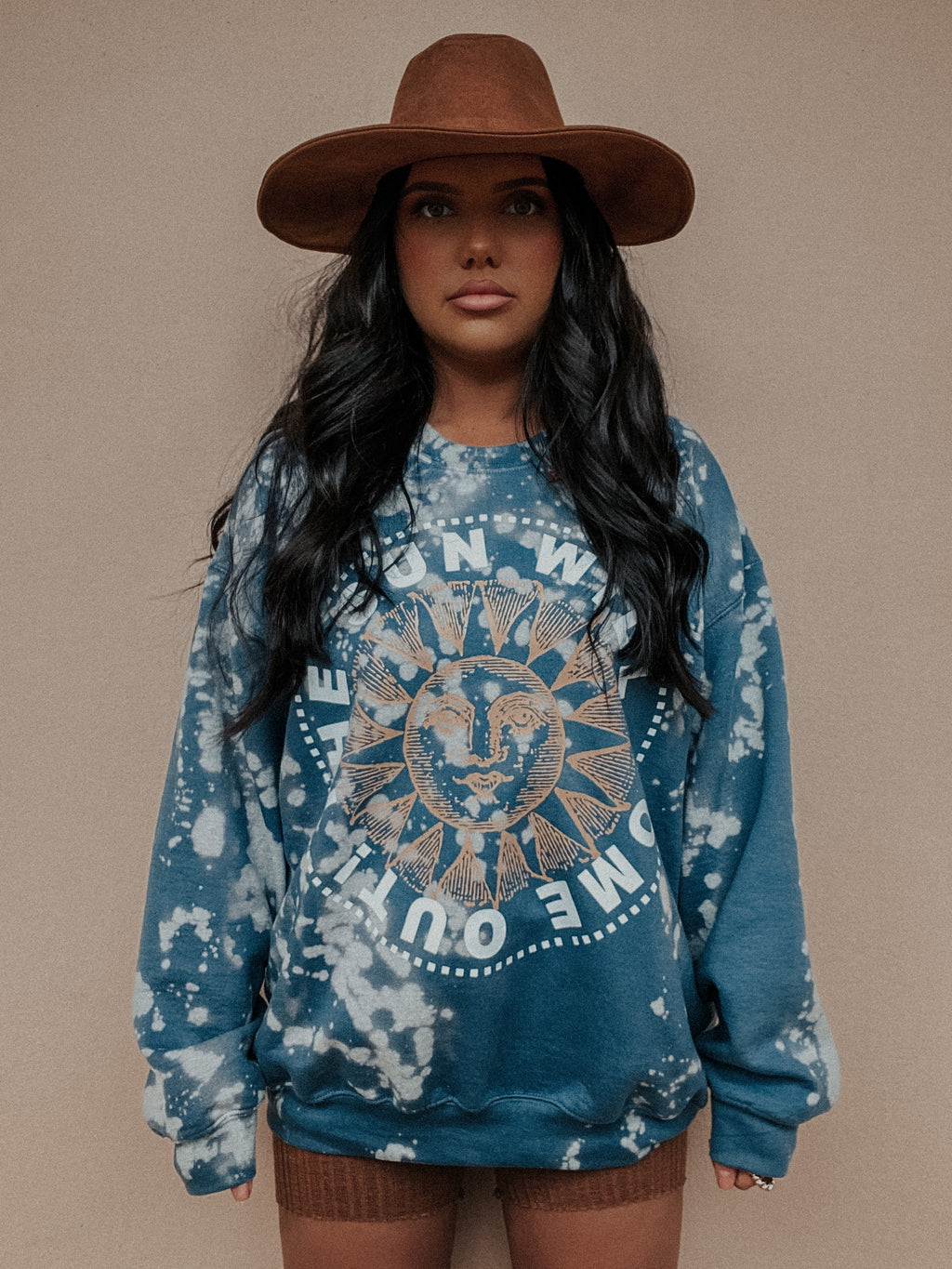 PRE-ORDER: The Sun Will Come Out Sweater: Ocean