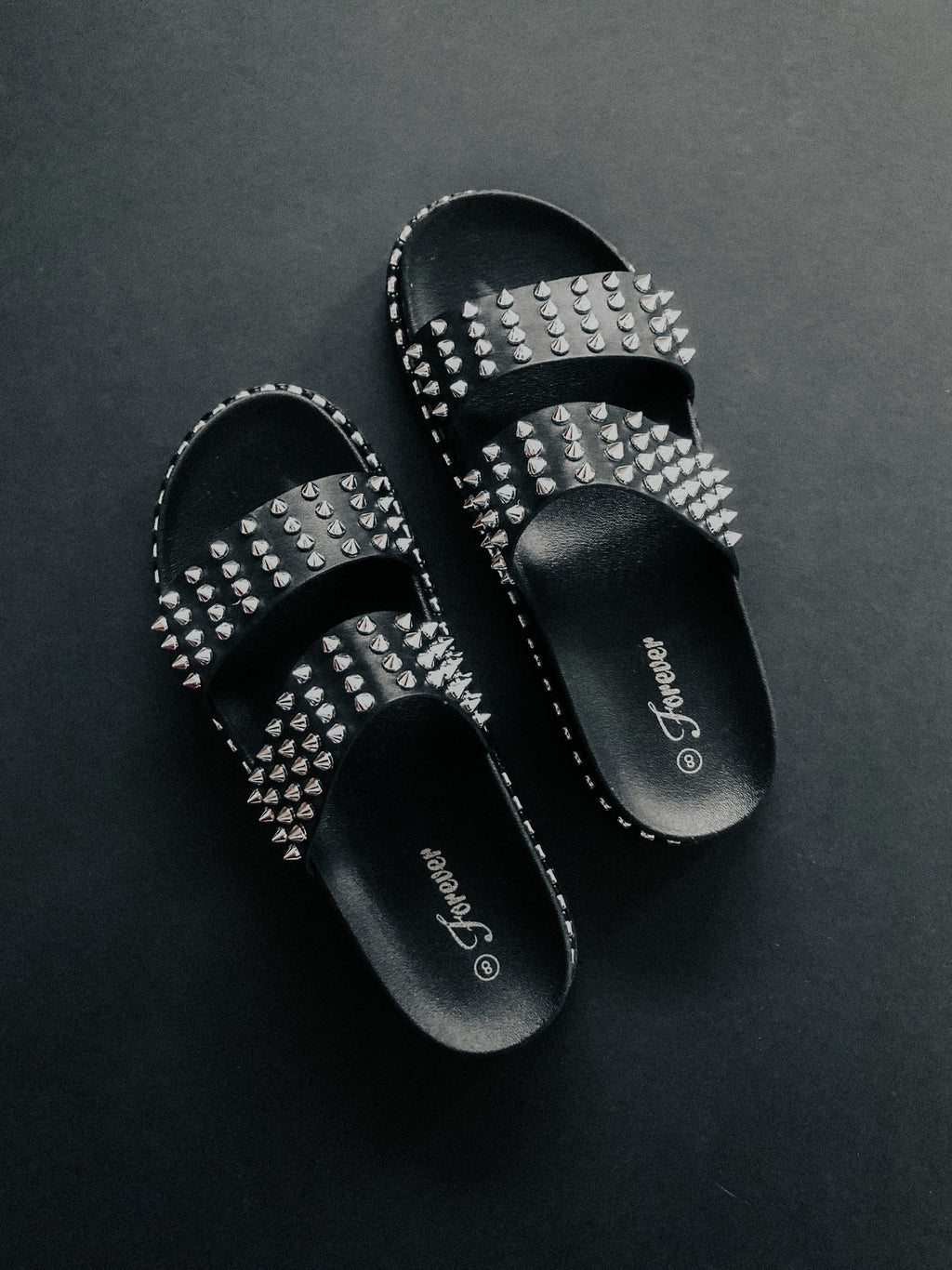 Forever Thing Sandals: Black