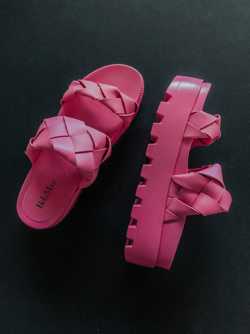 Clueless Sandals: Candy Pink