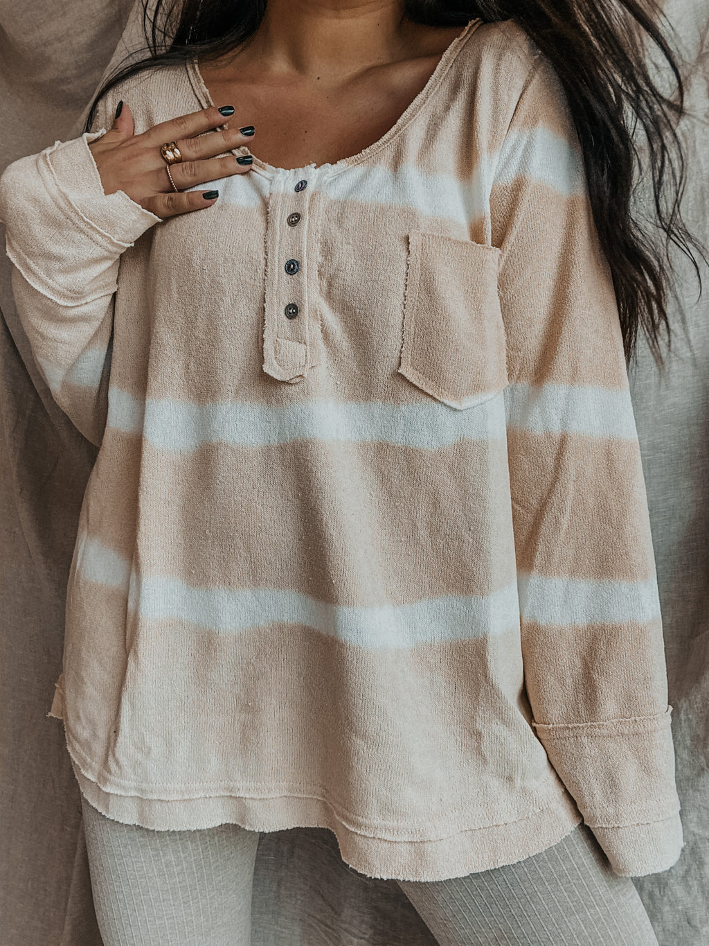 Such A Dream Top: Ivory