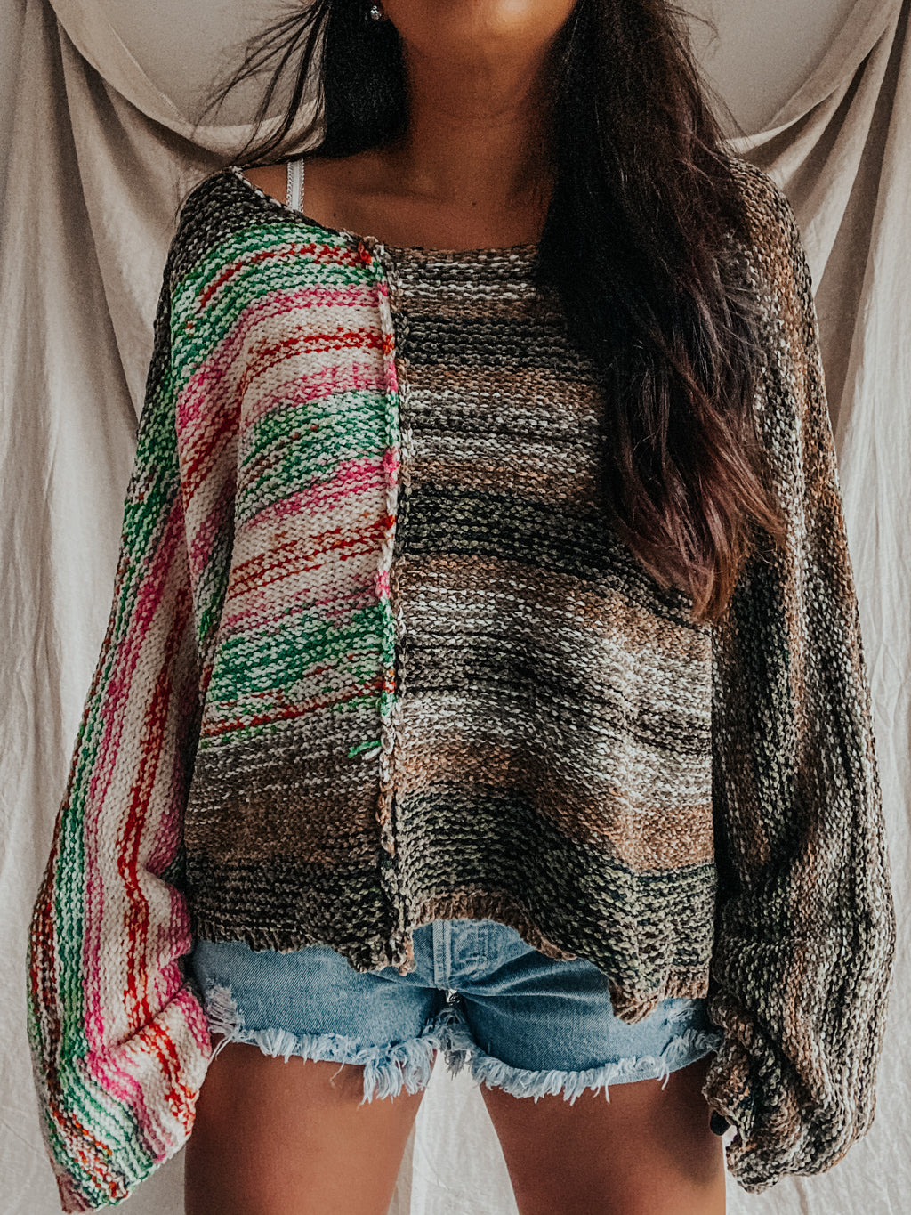 Summer Meets Fall Sweater: Multi