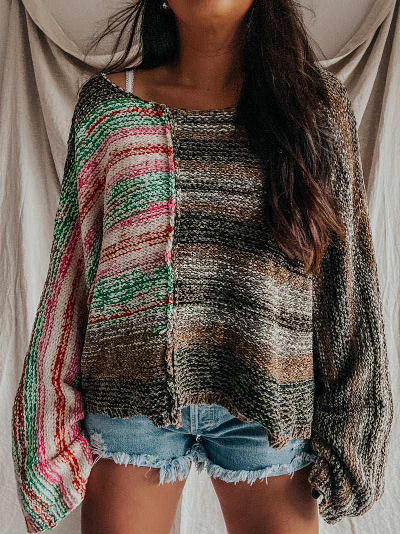 PRE-ORDER: Summer Meets Fall Sweater: Multi
