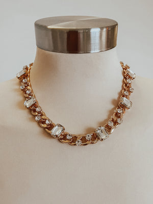 The Bella Necklace: Gold
