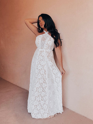 Dream Girl Maxi: Off White