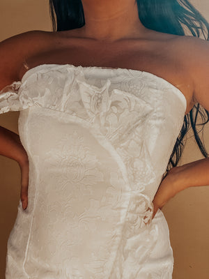 Marry Me Dress: White