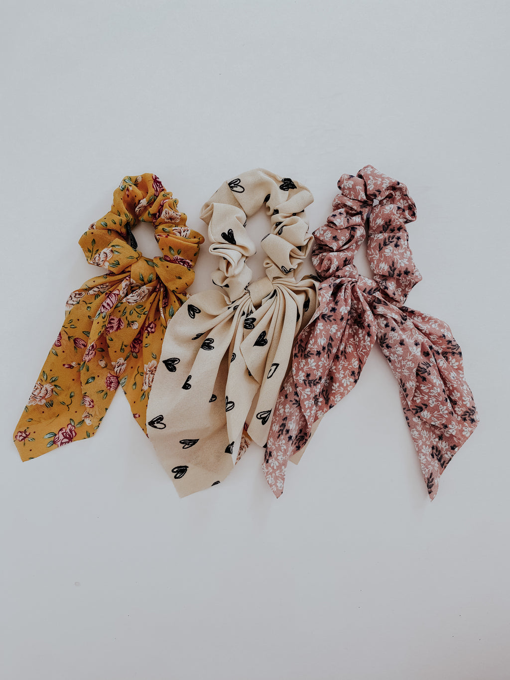 The Brianna Scrunchies: Multi