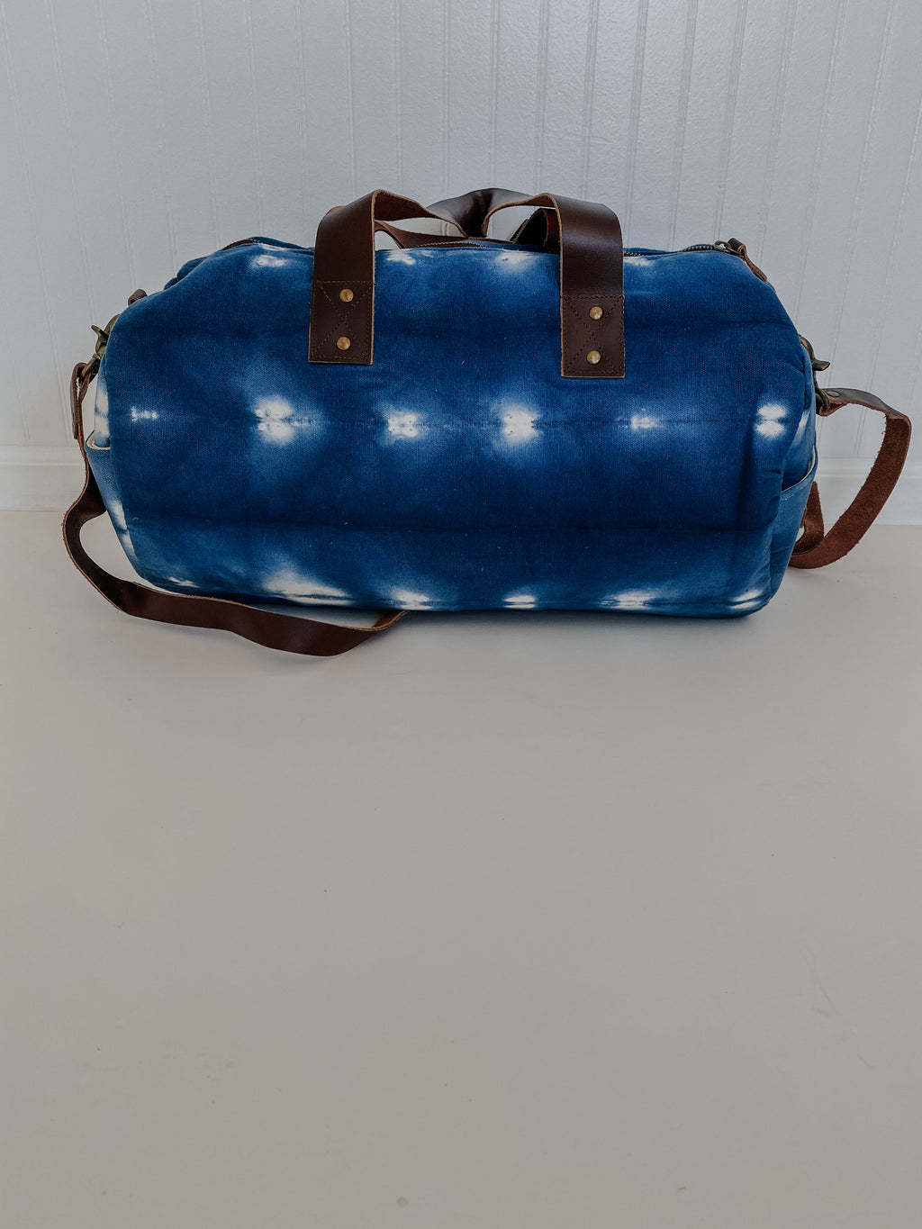 The Mini Peyton Tote: Blue