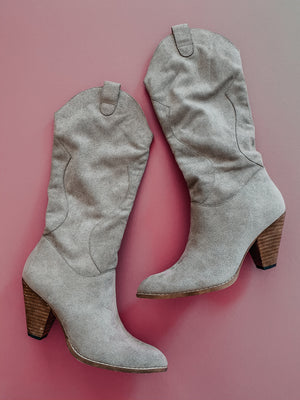 Heart & Soul Boots: Grey
