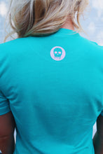 Take Off My Makeup Tee: Bright Teal