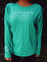 Cancer Zodiac Tee: Emerald