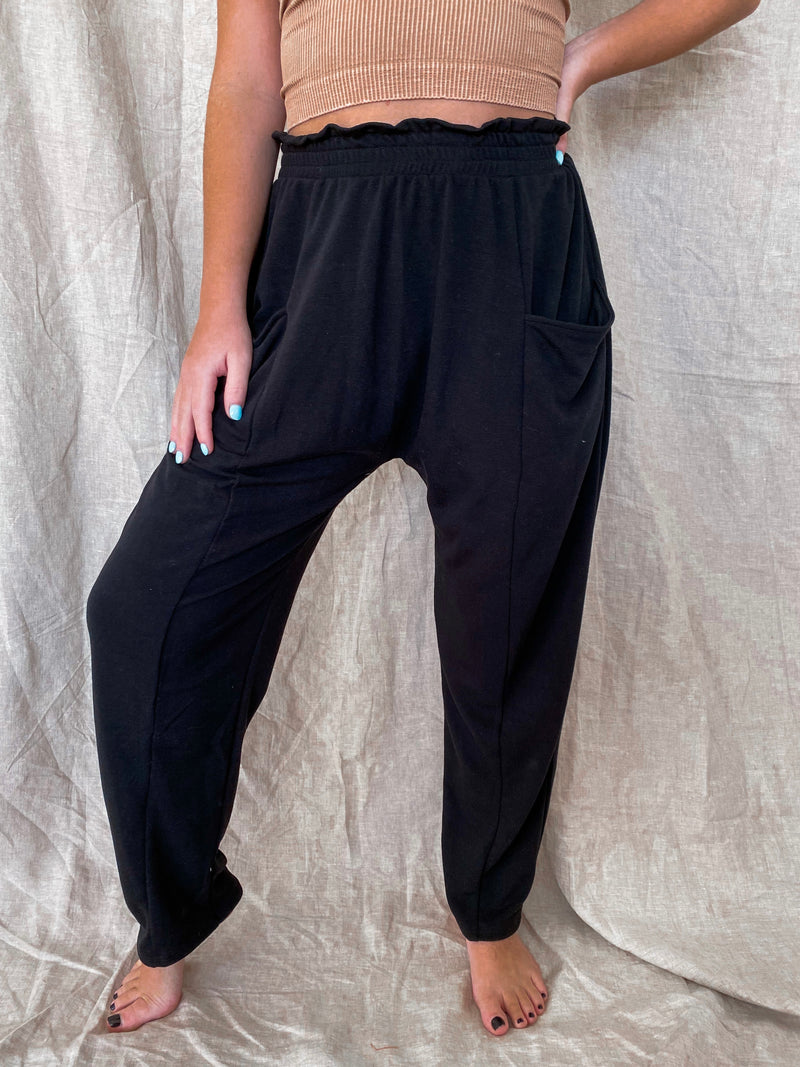 The Perfect Joggers: Black