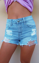 Summer Sun Shorts: Denim