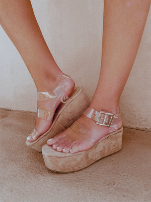 The Luna Sandals: Mauve