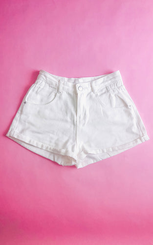 Falling For You Shorts: Ivory