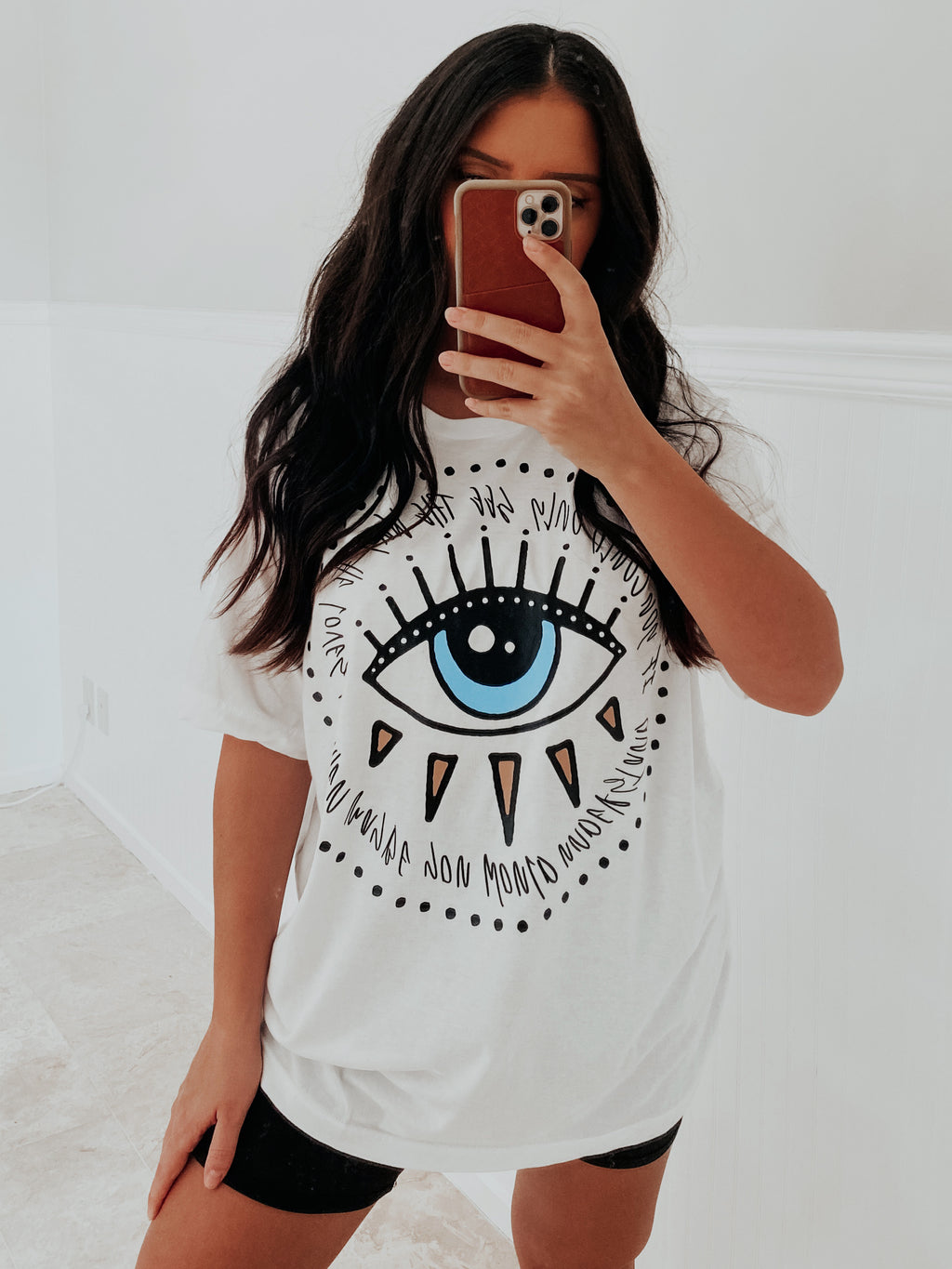 See What I See Tee: White
