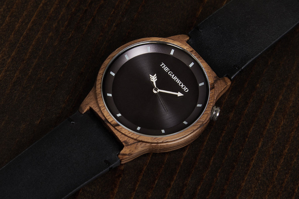 orange gallery with in leather light brown lyst watch tsovet product accessories band watches for men