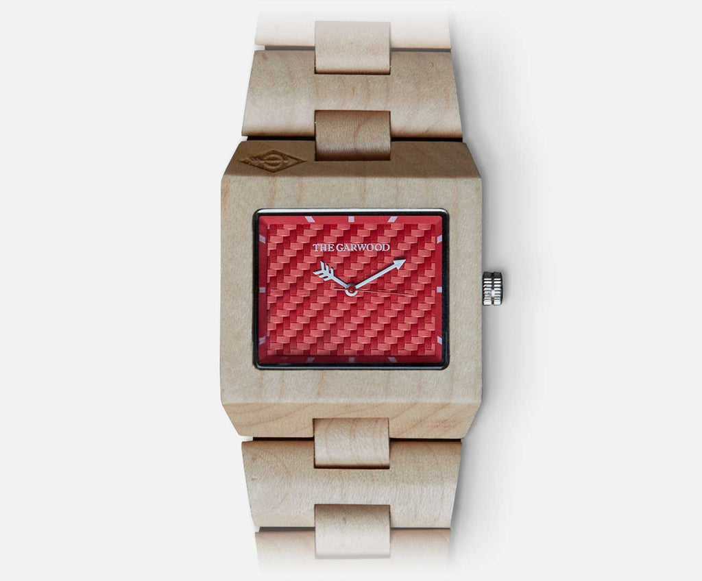 Great Dane Wood Watch