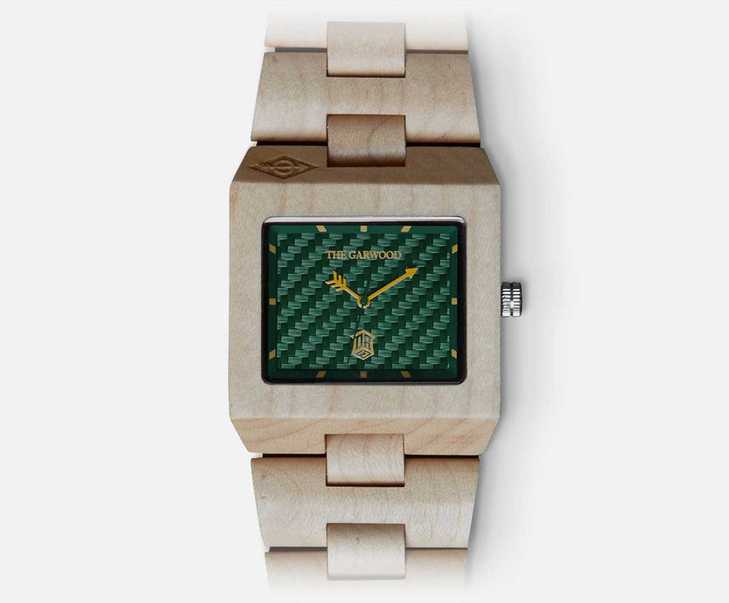 The One7 Special Edition Wood Watch
