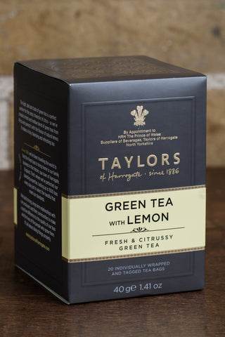 Taylors of Harrogate Green Tea with Lemon