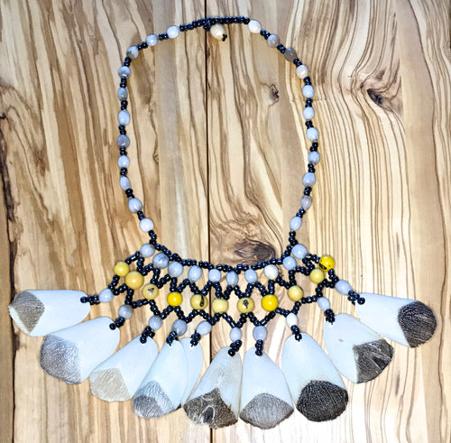 Large Fish Scale Necklace