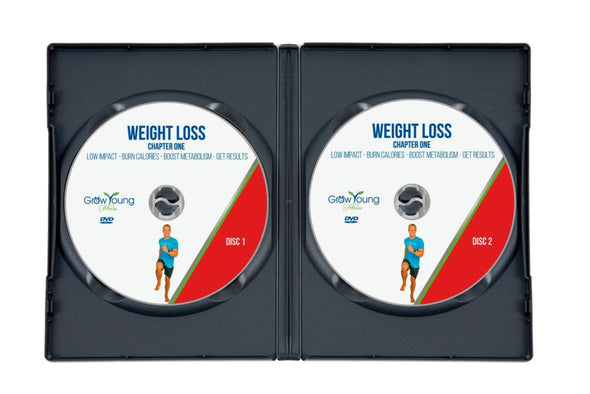 Cardio Weight Loss DVD - Grow Young Fitness Exercise DVD For Seniors