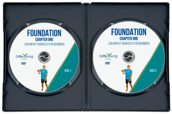 Foundation DVD - Grow Young Fitness Exercise DVD For Seniors